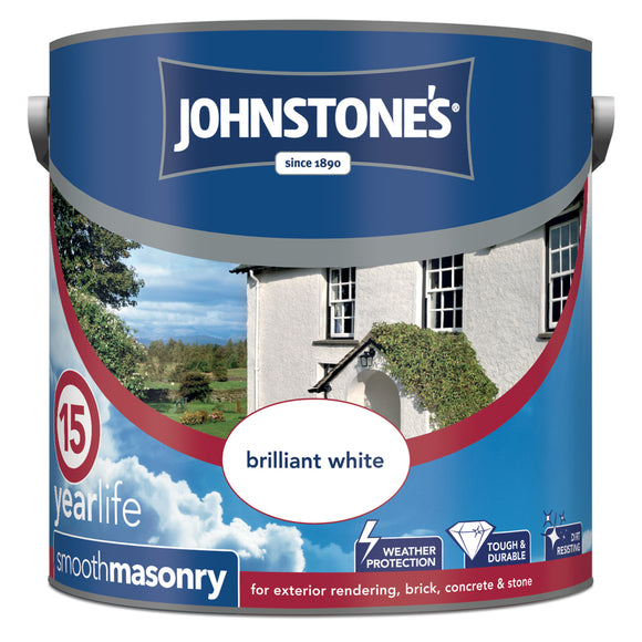 Johnstone's Smooth Masonry Paint