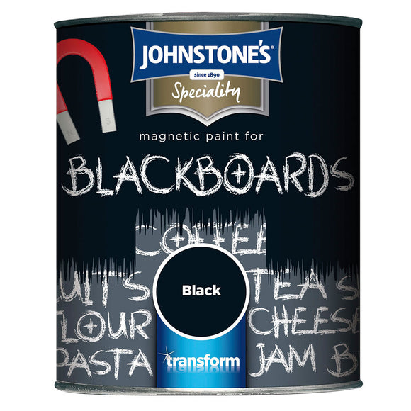 Johnstone's Magnetic Blackboard Black Paint