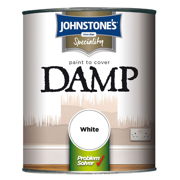 Johnstone's Paint to Cover Damp White