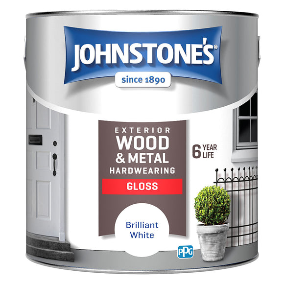 Johnstone's Exterior Wood and Metal Hardwearing Gloss Paint