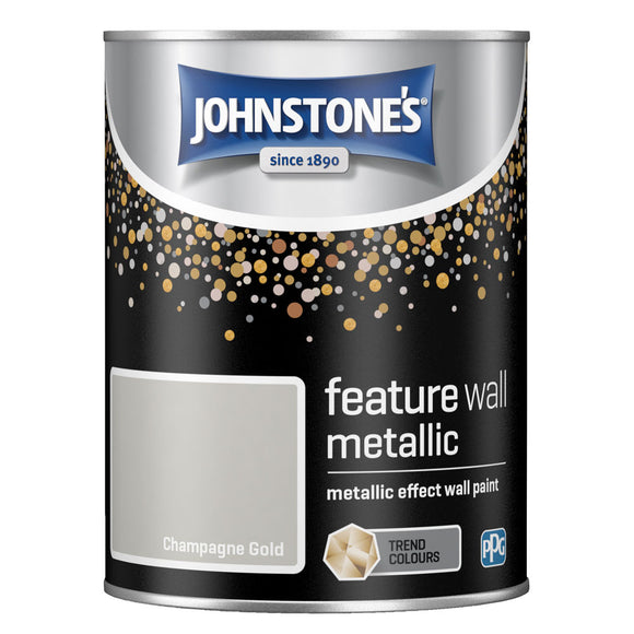 Johnstone's Interior Feature Wall Metallic Paint