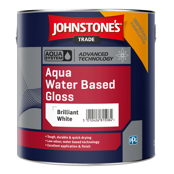 Johnstone's Trade Aqua Water Based Gloss Paint