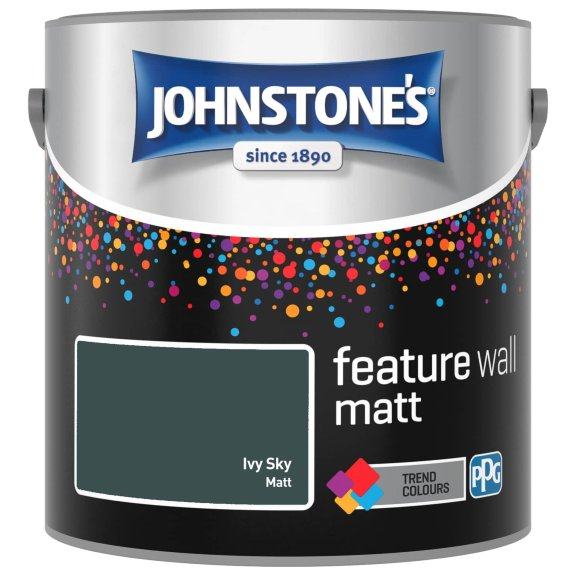Johnstone's Feature Wall Matt Ivy Sky