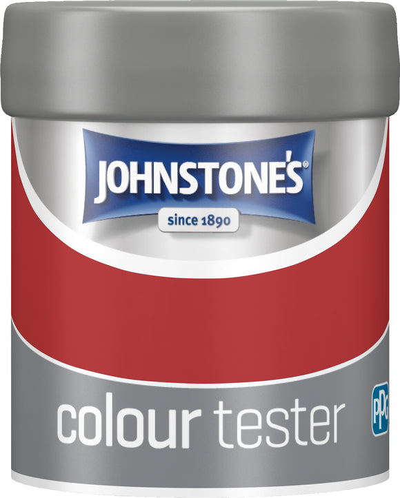 Johnstone's Tester Pot - Signal Red
