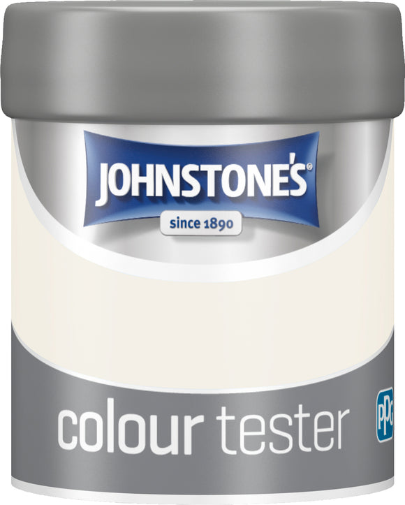 Johnstone's Tester Pot - White Lace