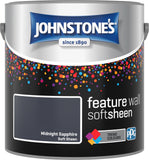 Johnstone's Feature Wall Soft Sheen Midnight Sapphire
