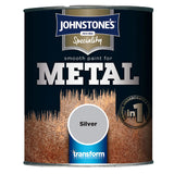 Johnstone's Speciality Smooth Paint for Metal Silver