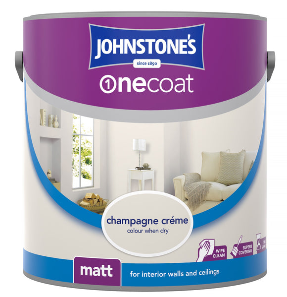 Johnstone's one coat champagne creme