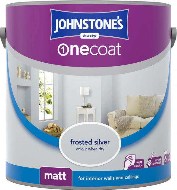 Johnstone's One Coat Frosted Silver