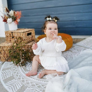 GRACE ROMPER WHITE