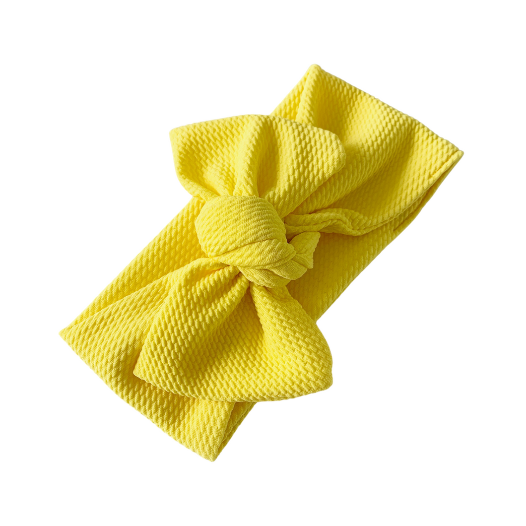 SUNSHINE TILLY KNOT HEADBAND