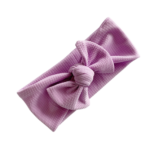 LAVENDER TILLY KNOT HEADBANDS