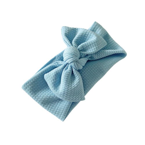 BABY BLUE TILLY KNOT HEADBAND