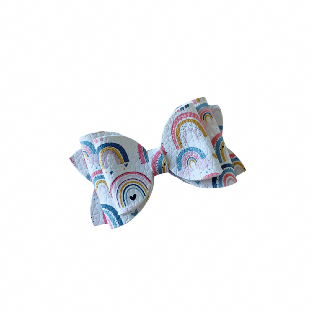 BLUE RAINBOWS MINI BOW