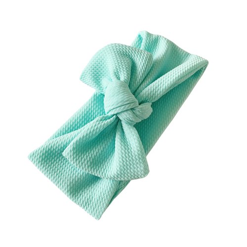AQUA TILLY KNOT HEADBAND