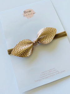 ROSE GOLD KNOT HEADBAND