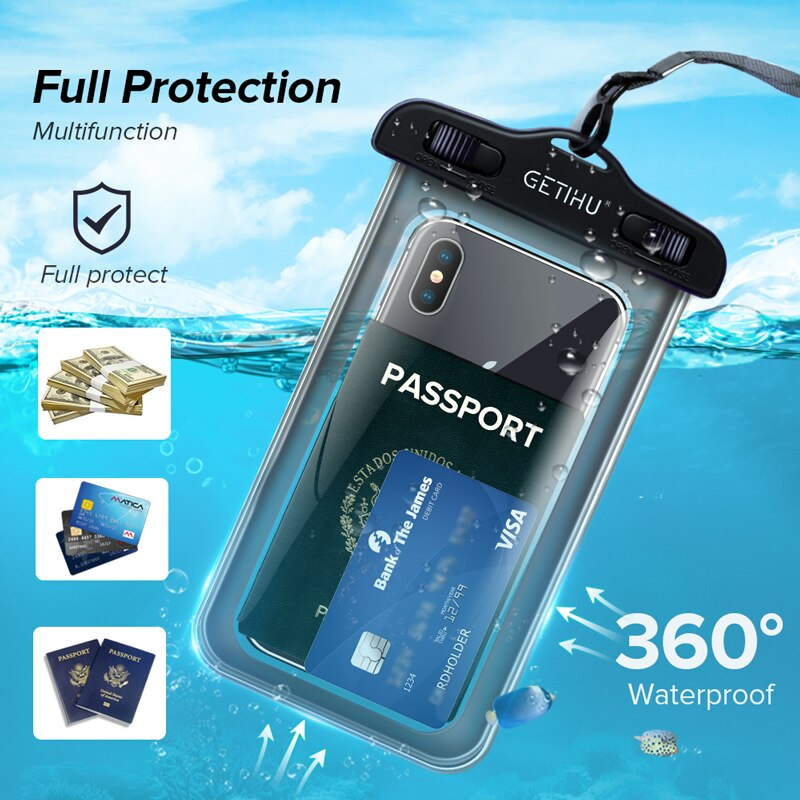 Beautiful!!  100% Waterproof Case For iPhone