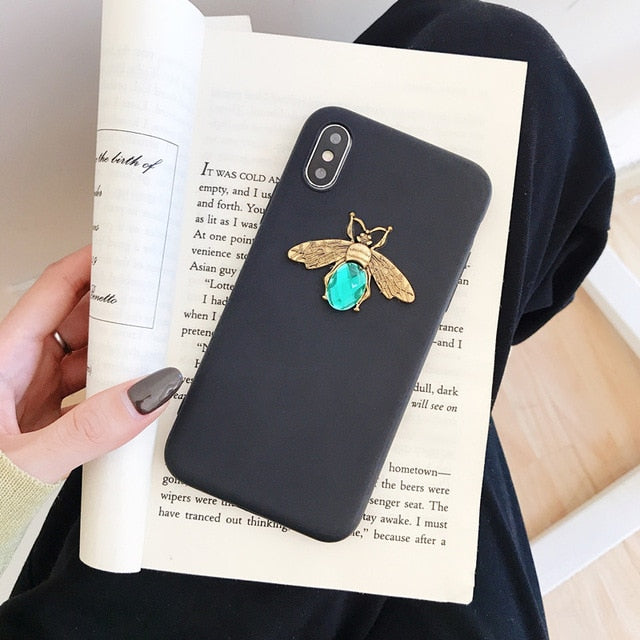 Glitte Diamond Bee Case for Iphone (NOT FOUND IN STORES)