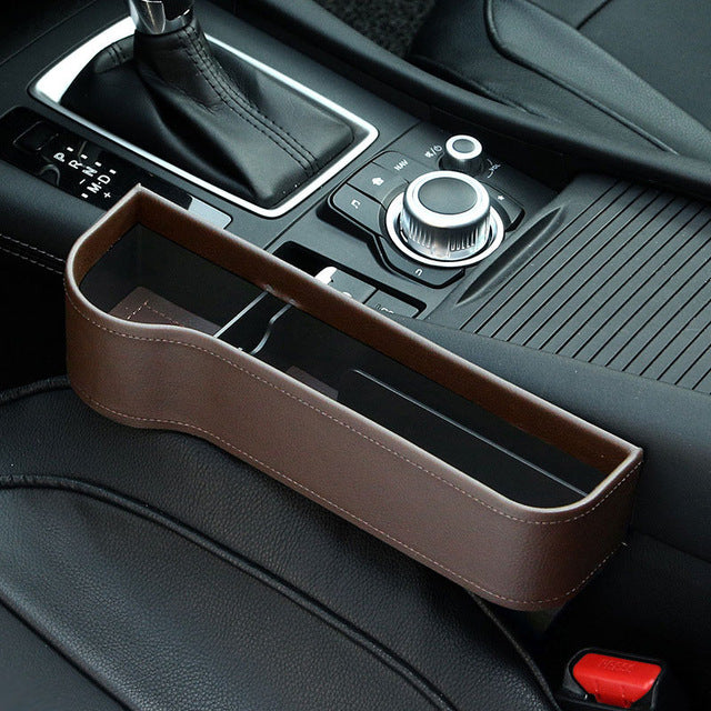 Amazing!! Interior Leather Car Organizer (NOT FOUND IN STORES)