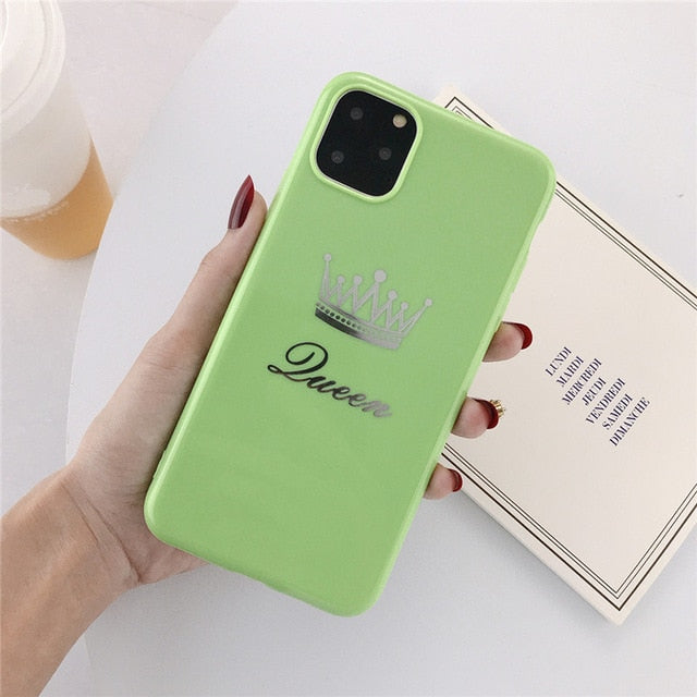 King Queen Case for Iphone High Quality (NOT FOUND IN STORES)🔥🔥🔥
