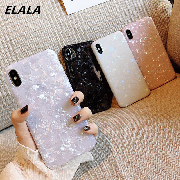 Case For iphone, Glossy Marble