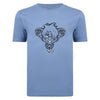 Image of Ratz Rat Tatt T-shirt – Indigo