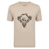 Image of Ratz Rat Tatt T-shirt – Sand