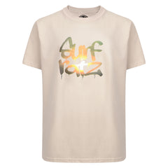 Surf Ratz Kids Sunset T-shirt - Sand