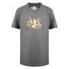 Image of Surf Ratz Kids Sunset T-shirt - Charcoal