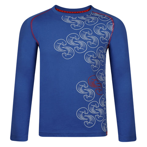 Surf Ratz Waves Long Sleeved Tee (Kids) – Ocean Blue