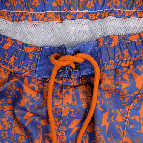 Surf Ratz SuperGrunge Board Shorts – Royal Blue/Orange