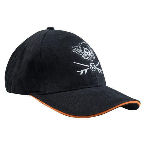 RatHead Baseball Cap – Black/Orange