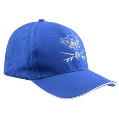 RatHead Baseball Cap – Royal Blue/White