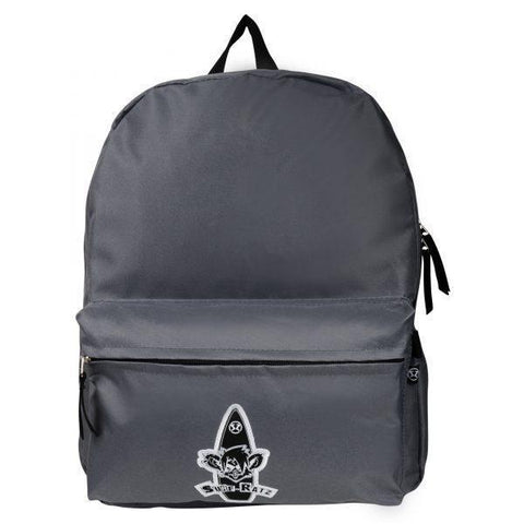 Surf Ratz Board Logo Backpack – Grey