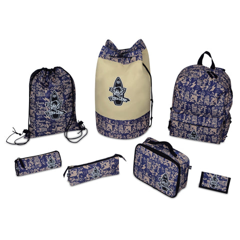 Surf Ratz SuperGrunge Duffle Bag – Blue/Stone