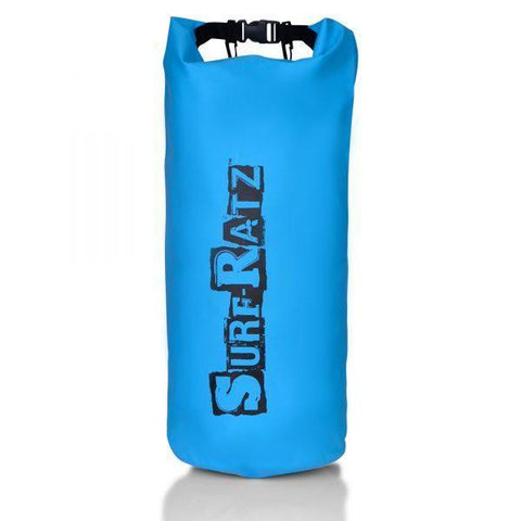 Surf Ratz Waterproof Dry Duffle Bag, Light Blue, 30L Capacity