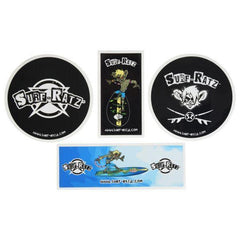 Surf Ratz stickers pack