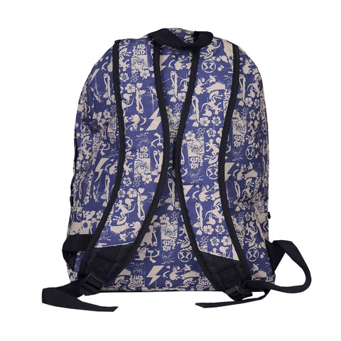 Surf Ratz SuperGrunge Backpack – Blue/Stone