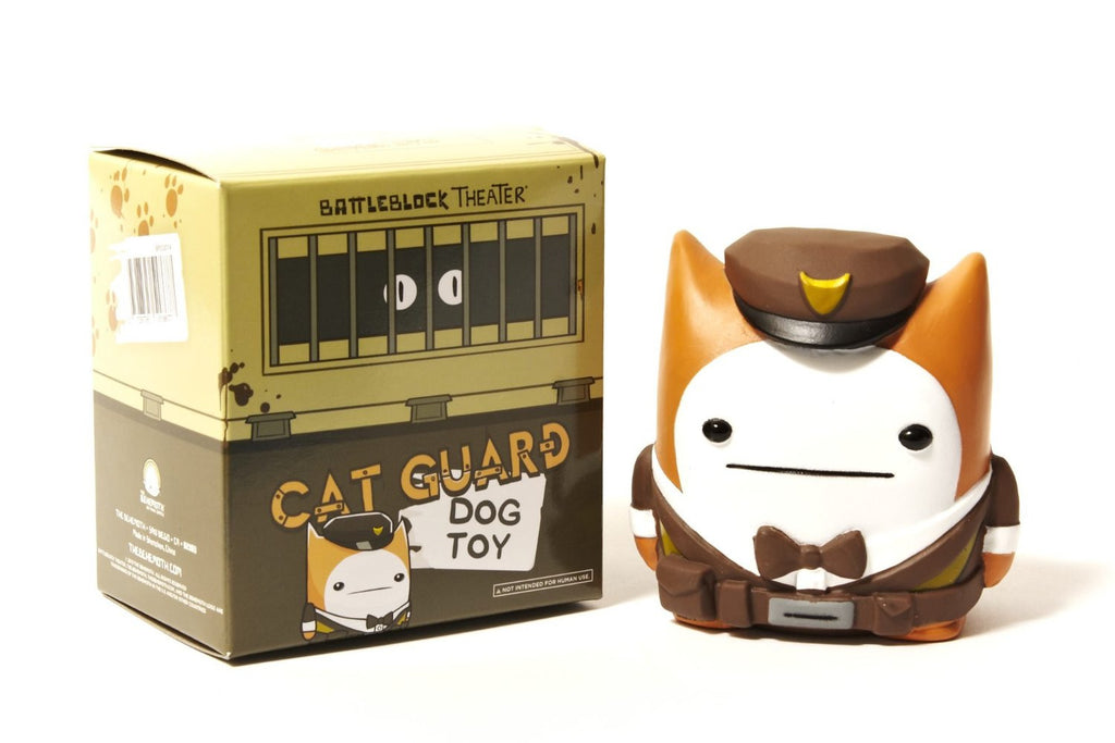 CAT GUARD DOG TOY