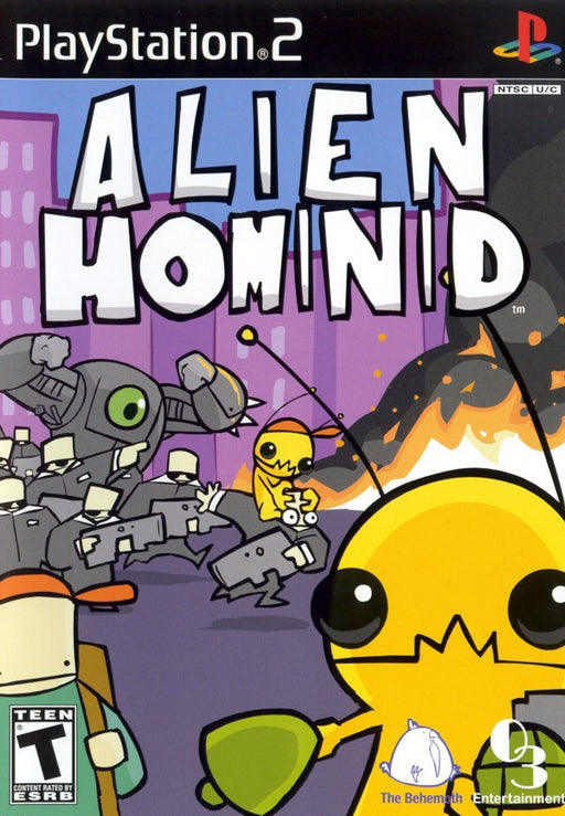 Alien Hominid - Available for 2 Platforms!