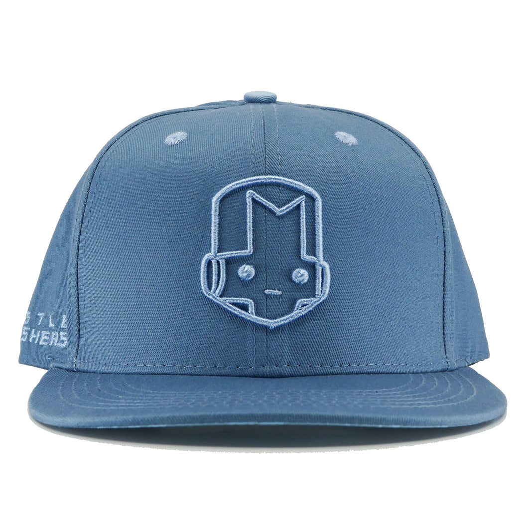 3D Blue Knight Hat