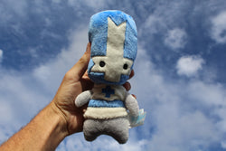 BLUE KNIGHT PLUSH