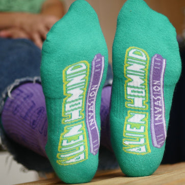 Alien Hominid Invasion Socks