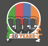 Castle Crashers 10 Year Anniversary T-shirt