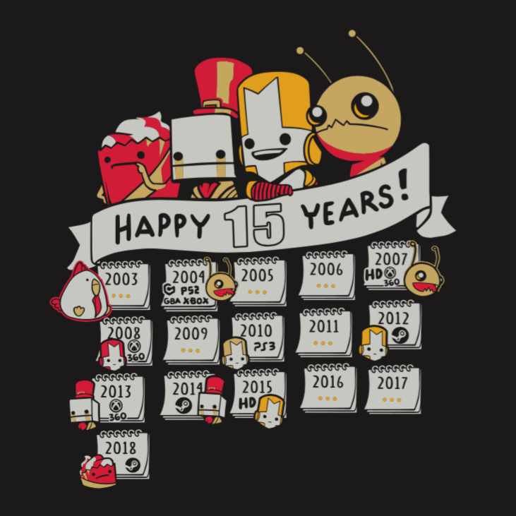 The Behemoth 15 Year Anniversary T-shirt