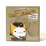 Cat Guard Piggy Bank