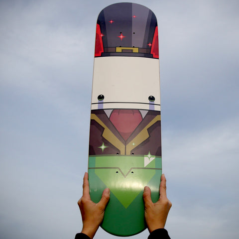 Hatty Hattington Skateboard Deck