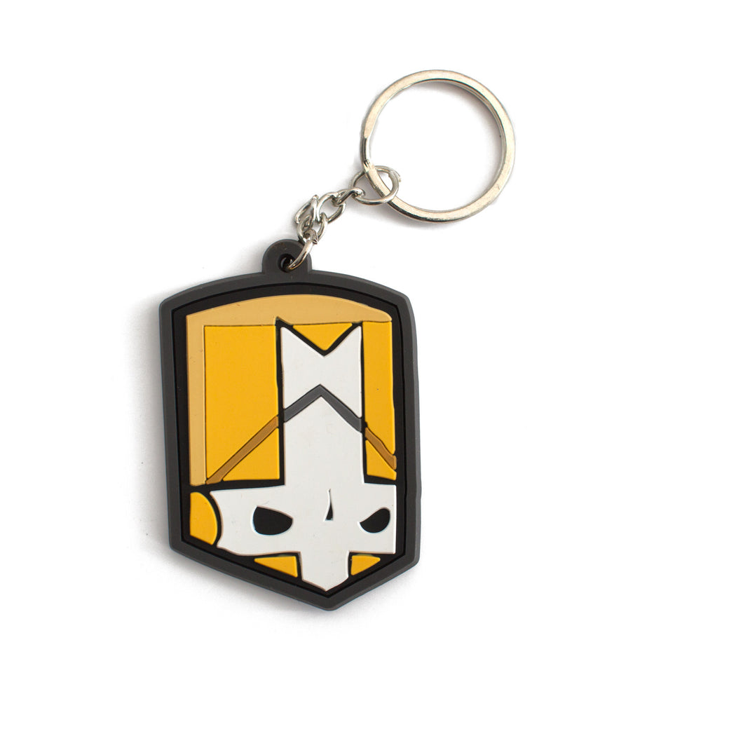 Orange Knight Keychain