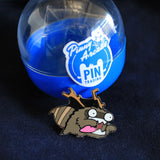 Pinny Arcade Pin - Raccoon Monster