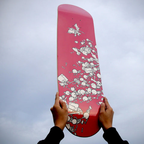 Skeleton Battle Skatedeck